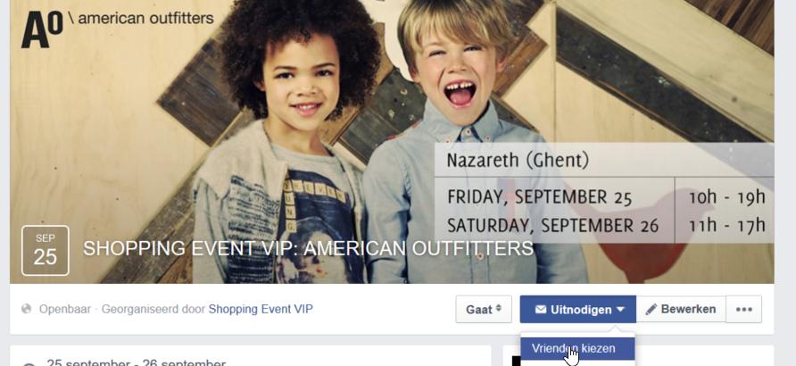 facebook vrienden uitnodigen