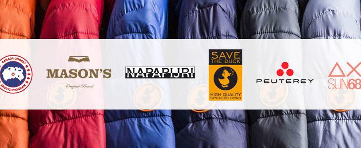 Napapijri, Mason's, Save the Duck,…