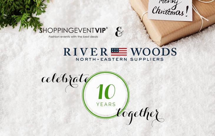 10 jaar Shopping Event VIP en River Woods!