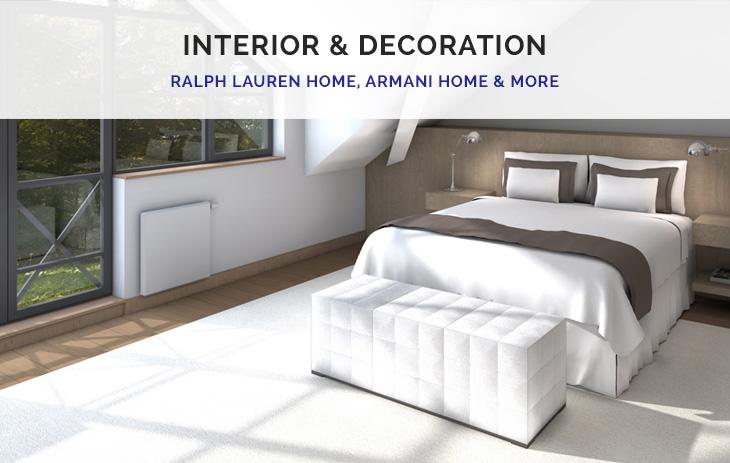 Ralph Lauren Home, Armani Home,…
