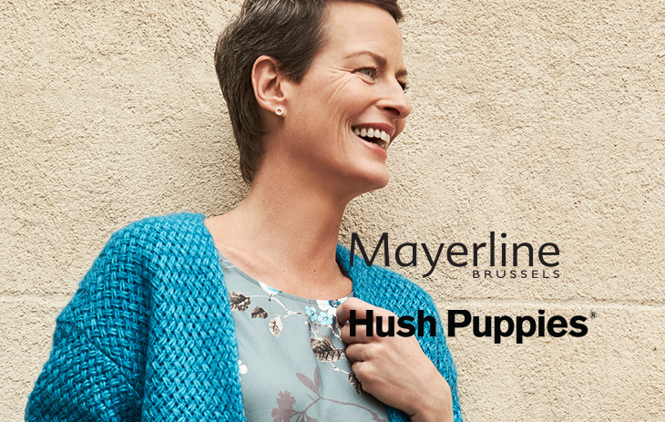 Mayerline en Hush Puppies