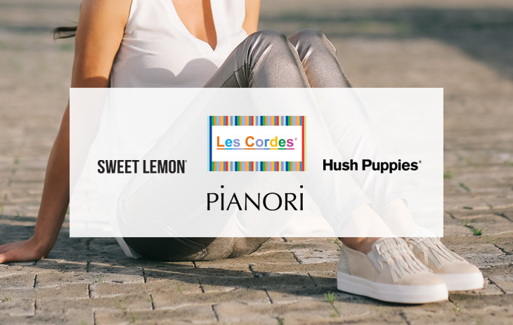 Hush Puppies, Sweet Lemon, Pianori, Les Cordes