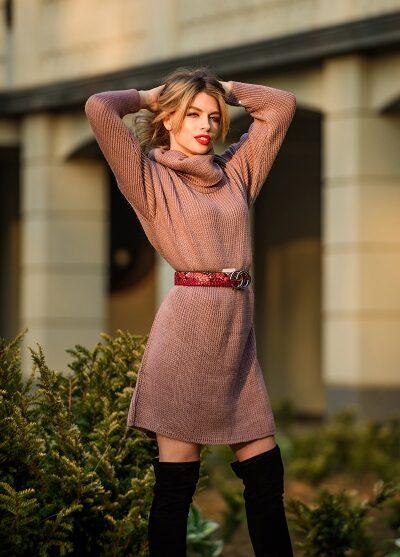 Goedkoop jurkje sweater dress