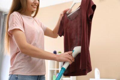 Kleding stomen helpt om kleren langer mooi te houden