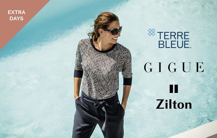 Gigue, Terre Bleue, Zilton,… Extra days