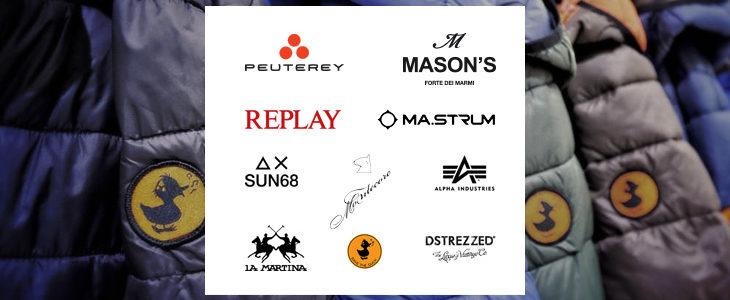 Peuterey, Alpha Industries,…
